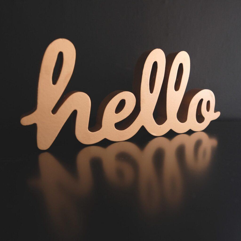 power of hello