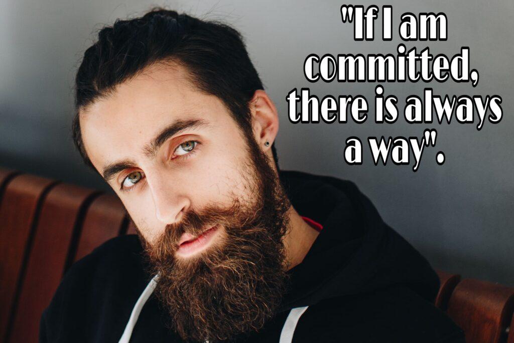 Commit | Commitment | Achieving commitment | Achieve your target | Achieving goals.