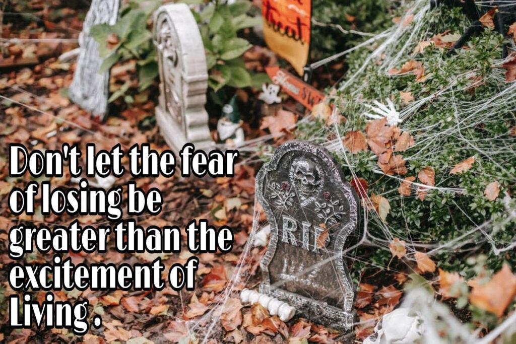 Fear of losing money 6