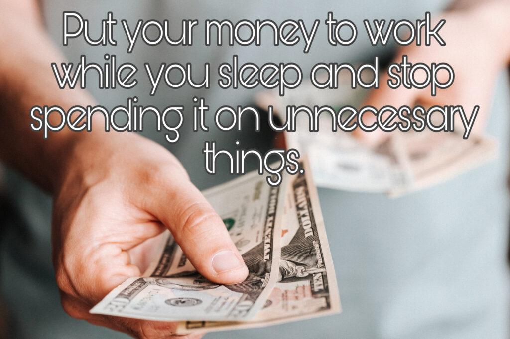 Fear of losing money 1