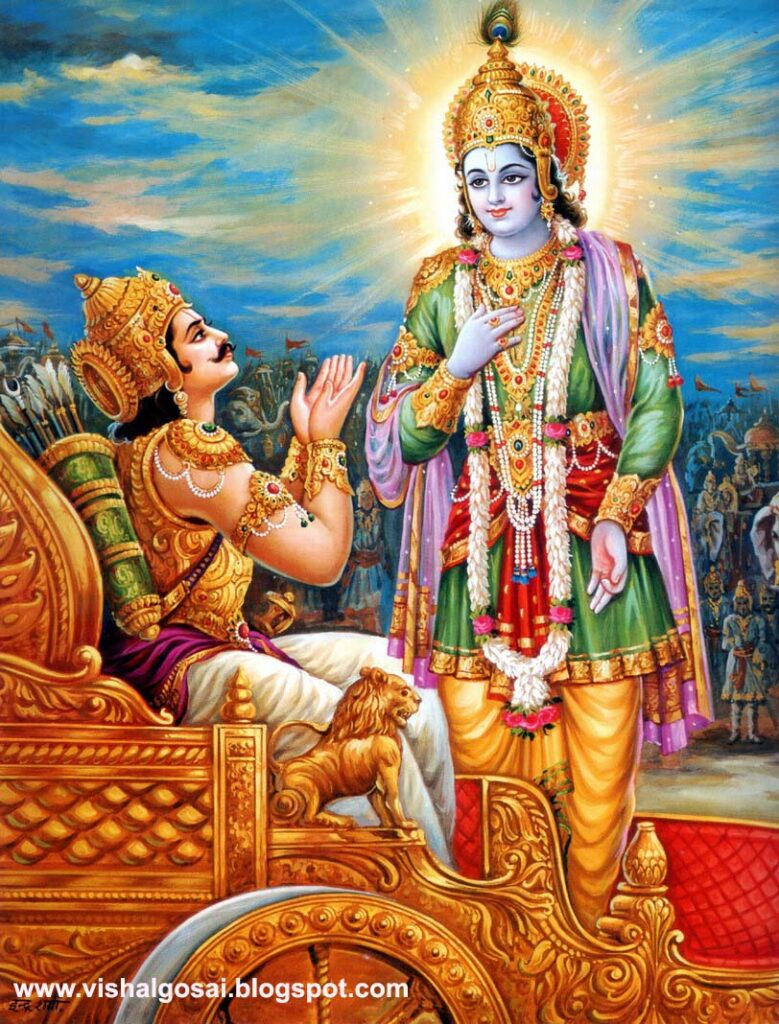 Conversation with lord krishna