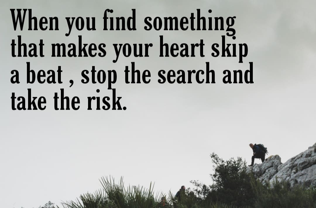 Overcoming the Fear of Taking Risks. 1