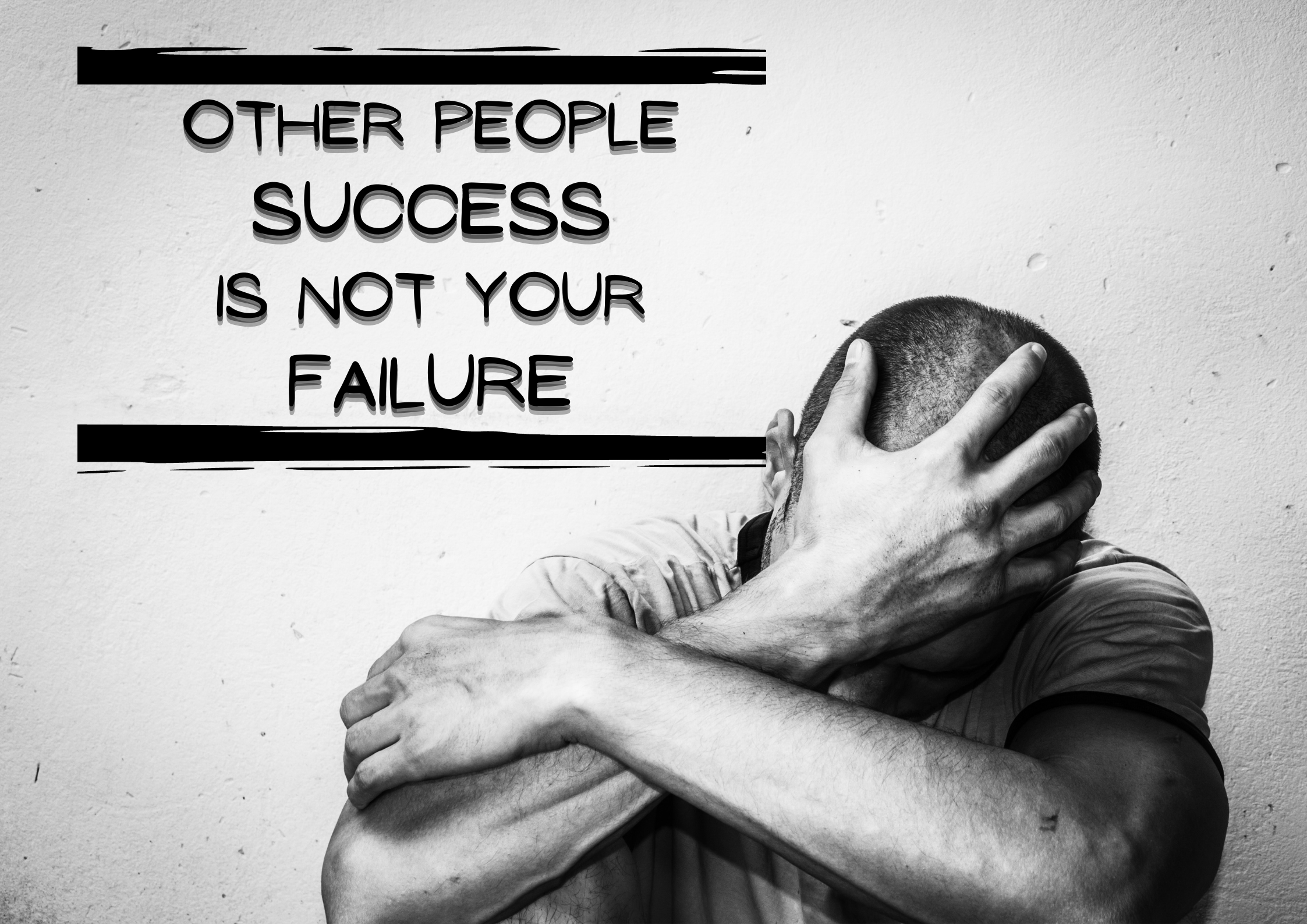 How to stop being jealous of others success ??