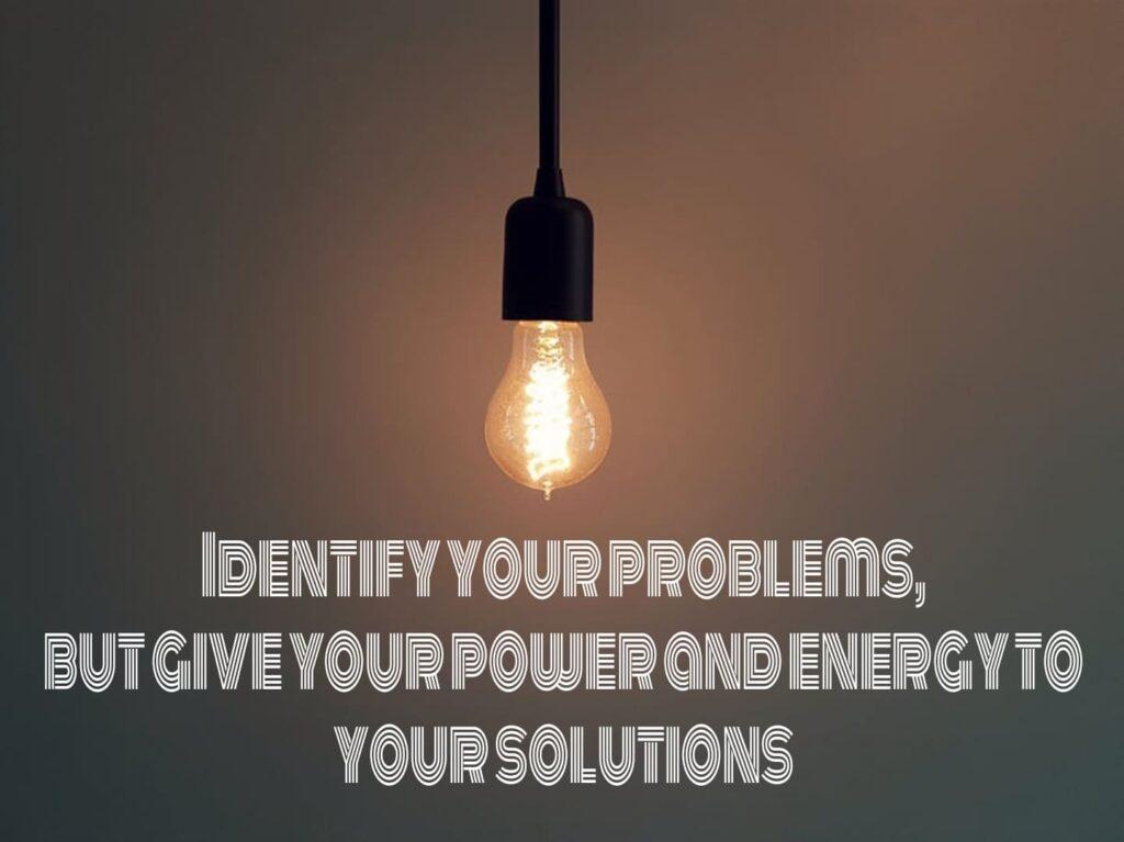 Solution based thinking