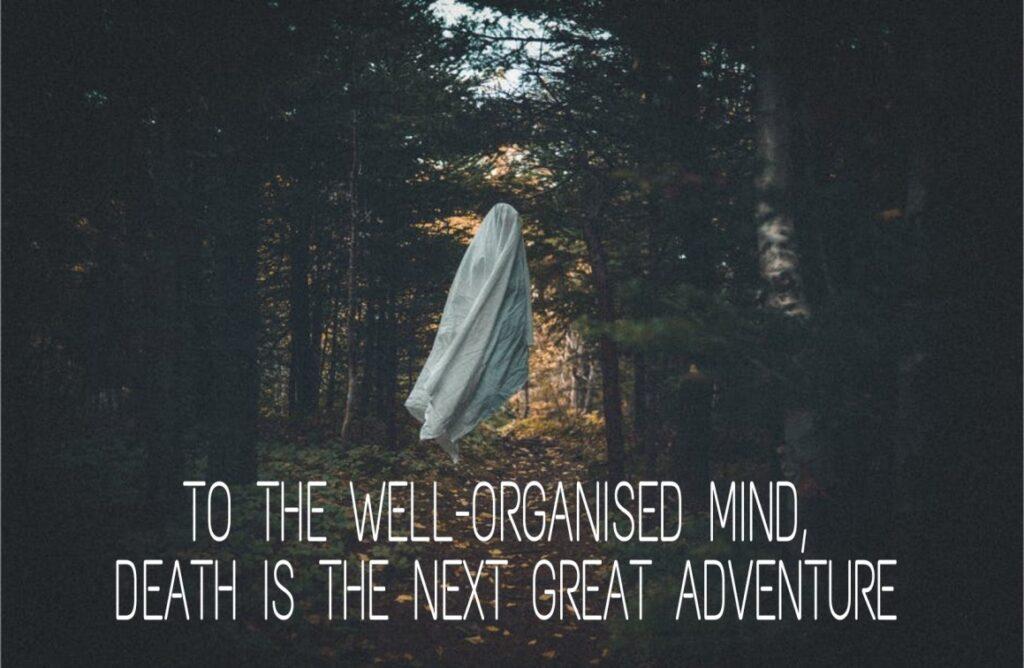 Fear of death phobia 1