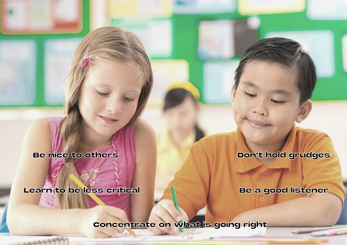How to be a good classmate